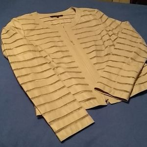 Layfayette leather/silk jacket